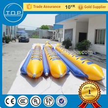 Popular inflatable buoy water bike pedal boats for sale aqua park with EN14960/EN15649