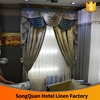 2016 Hot Sale luxurious home decorating window curtain textile for Dubai