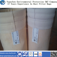 Non-Woven Nomex Antistatic Filter Bags For Dust Collection Uesd in Filter Housing With Free Sample