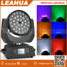 Stage lighting moving head 360w zoom led 36 uv wash