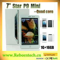 7 Inch MTK8389 Quad Core Smart pad 1GB 16GB With GPS