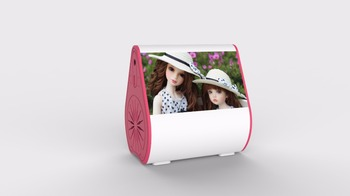 New Arrivals 2017 Pink Top Mini Bluetooth Speakers For Promotion