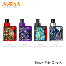 New Innovative Products E Cigarette Kit Express 25W Output Smok Priv One Kit With Delrin Drip Tip E Cig Tank