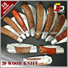 different kinds of knife wood handle