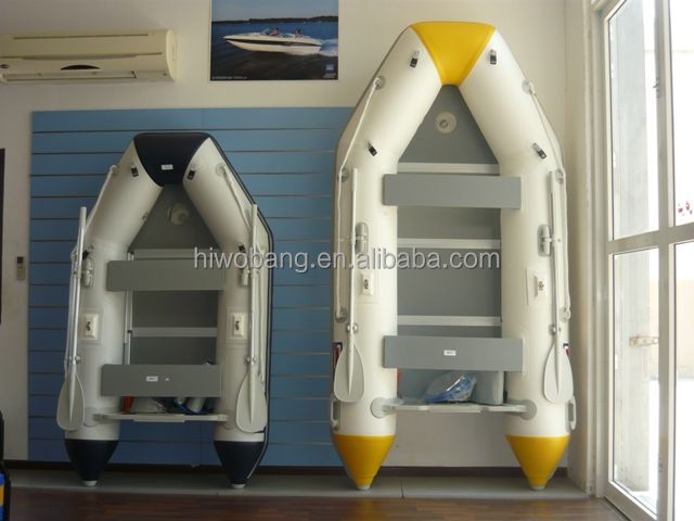 2016 New Design Cheap Military Rigid Ski Inflatable Boat