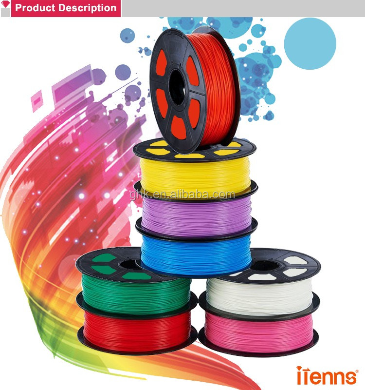 itenns high quality 1KG(2.2LB) PCL filament for 3D printer and pen
