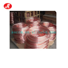 More Than 20 Years Experience 1/4 3/8 1/2 5/8 3/4 Air Conditioner Coil Copper Pipe For R410A
