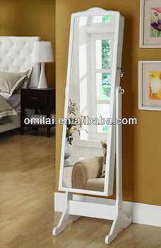 white black cheap antique omilai high quality floor mirror frame