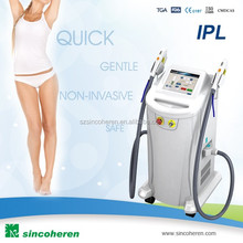 Multifunction machine 2 in 1 rf shr opt elight ipl hair removal machine