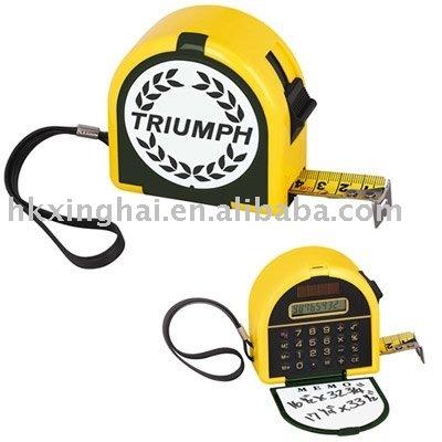 Calculator Tape Measure with Memo Board