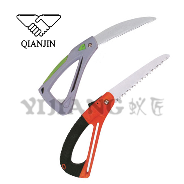 QJ-JH13 65Mn alloy steel foldable saw, high quality hand saw