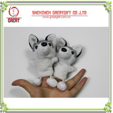 Fanny Wolf Type Finger Puppets plush toys,Custom stuffed toys for kids;kit's gift