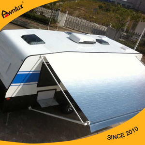 rv aluminum awnings durable manual caravan awning