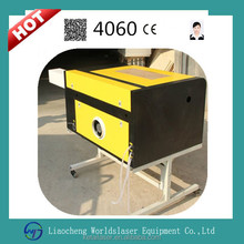 Worldslaser Factory Price 4060 Plastic, Wood, MDF, Acrylic, Glass, Stone, Marble CO2 Laser engraving machine with CE
