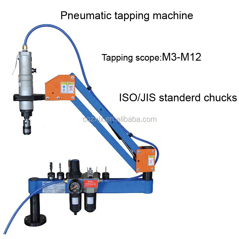 Automatic Pneumatic Nut Tapping Threading Machine