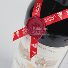 Hot sale wine bottle use stickers hang tag label wax seal