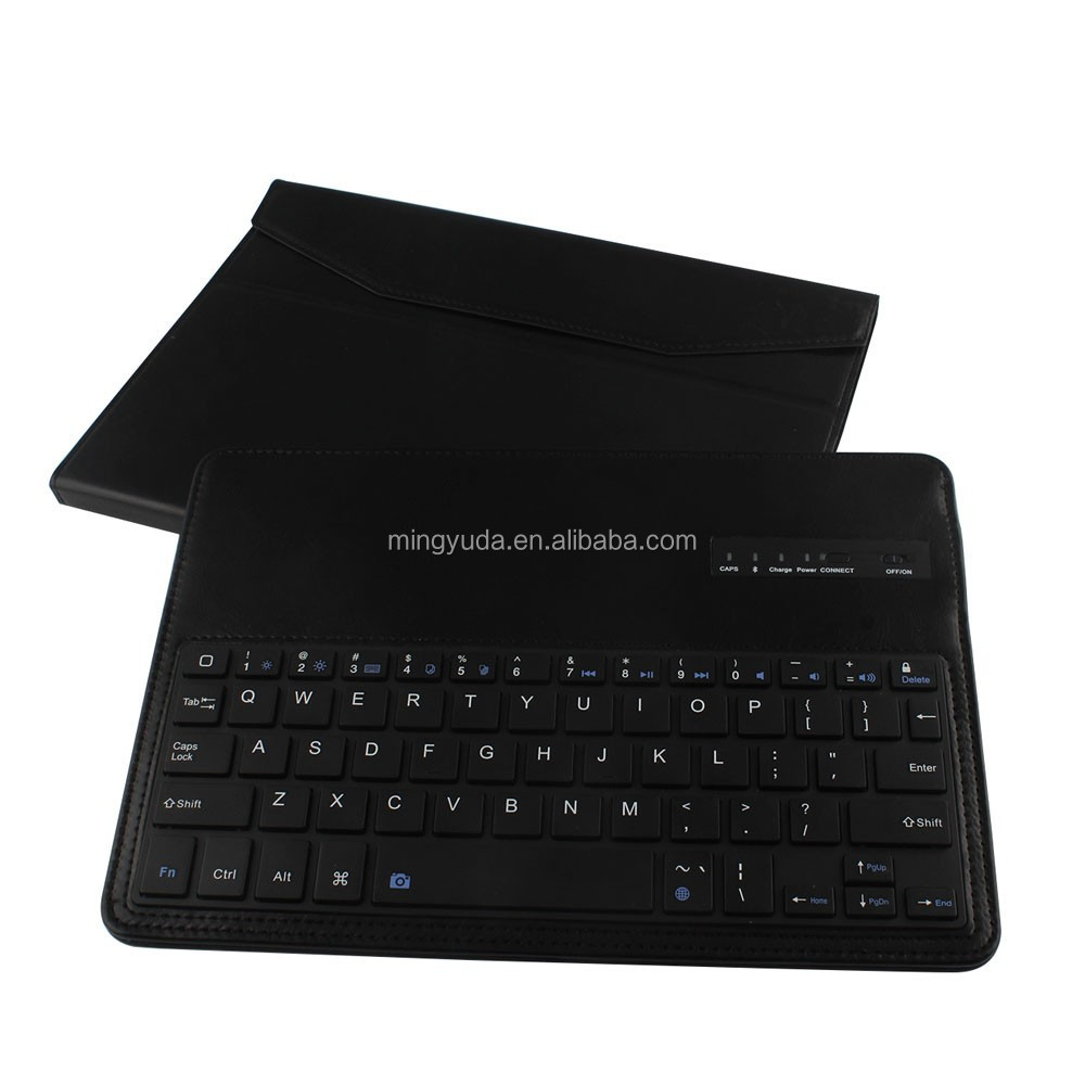With the self timer function button bluetooth keyboard for ipad air keyboard case