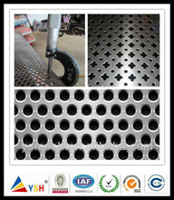 2018 Alibaba hot sale Low price cheap perforated metal panel/perforated plastic mesh sheets/perforated fabric mesh from factory