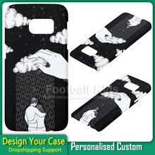 Free sample DIY Custom print mobile phone case cover for Samsung Galaxy s7 edge