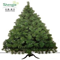 SJZJN 1523 evergreen New Design High Quality Christmas Tree/Fake Decorative Pine Tree Hot Sale