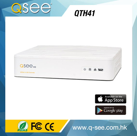 most beautiful mobile cctv dvr of white housing car dvr item for Qsee QTH41