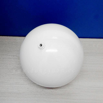 Hanging Stainless Steel White Sphere for Garden ,Christmas decoration