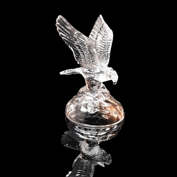 High Quality Beautiful Clear k9 Crystal Animals  Crystal Eagle