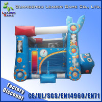 Big robot inflatable jumping castle for sale