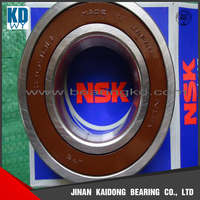 Made in Japan NSK deep groove ball bearing 6217 DDU C3 with size85*150*28 mm
