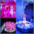 Factory Price 6 Inch Rechargeable Light Base For Wedding Decoration