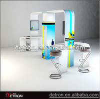 Modern style exhibition modular display stands booth ZH-2014055