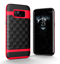 For Samsung case, New Design 3D Ling TPU+PC mobile blank phone cover case for Samsung S8
