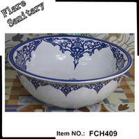 hot design counter sink foshan ceramic wash basin