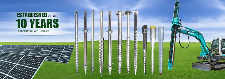 High Capability Ground Pile Screw Anchor