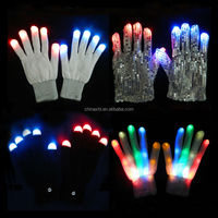 Party Novelties Items Lights Glove LED Flashing Gloves