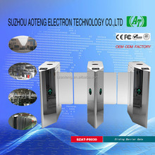 SZAT-P8030 Best turnstile 304 stainless steel Automatic Access Control Full Height Sliding Gate Barrier