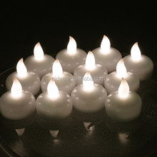 Hot Sale Battery Operated Water Floating LED Candles For <strong>Wedding</strong>