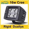 Double Row led motorcycle driving lights 16w 18w