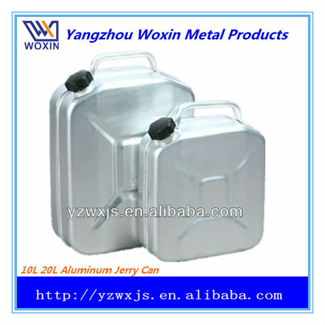10L 20L aluminum petrol water jerry can