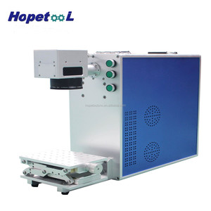 Low price Portable 10w/20w/30w Fiber laser marking machine with ISO/CE Certificates