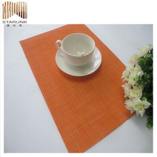 clear plastic woven place mat wholesale for kids
