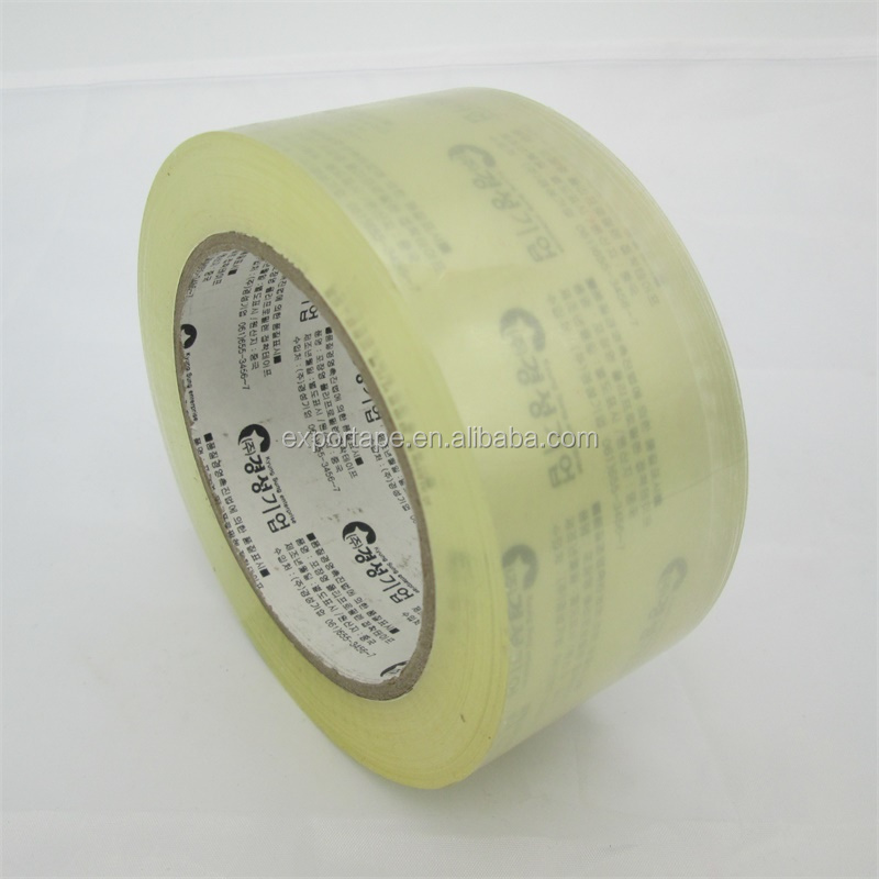 Water proof clear opp acrylic adhesive shipping tape with dispenser