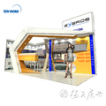 Detian Offer aluminum customized exhibition display used spray booth for sale