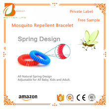 Hot Selling Product Amazon Baby Mosquito Repellent Bracelet Best Price Silicone Wristband Effective and Long Lasting