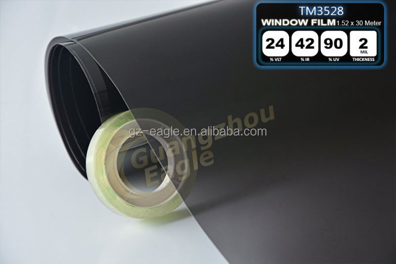 99% Anti-Uv Rate And Anti-Scratch And High Insulation Car Solar Window Tinting Film Transparent Pvc Film