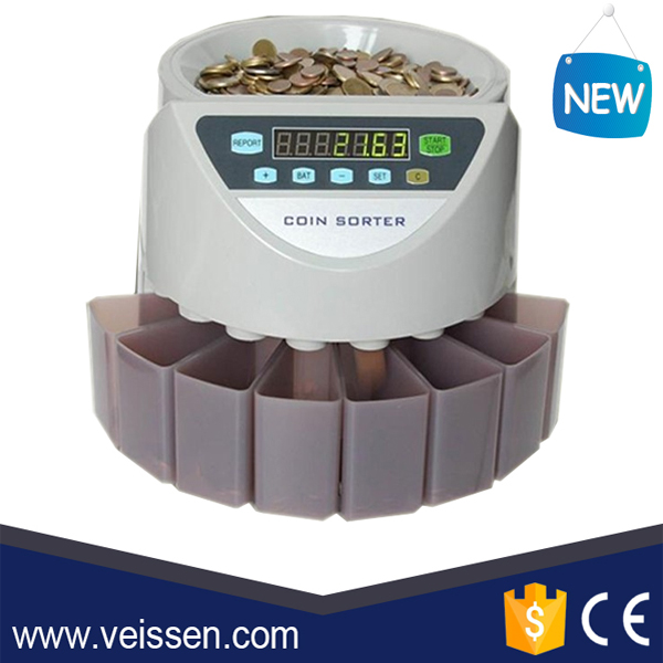Popular ! Auto Euro Coin Sorter and Counter VS-C05