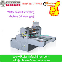 Water soluble Filming Machine Laminator