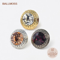 Fashion metal coat buttons garment accessories/apparel