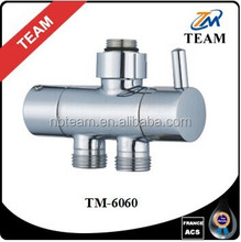 TM-6060 shower accessories brass material ceramic diverter adjust water outlet bathroom fittings