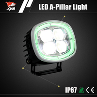 Car accessories shops 40W Aluminum LED headlight led light auto tuning